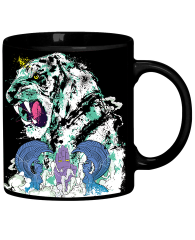 """Black Tiger"" Coffee Mug"