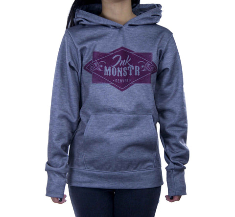 """Heather"" Women's Pullover Hoodie"