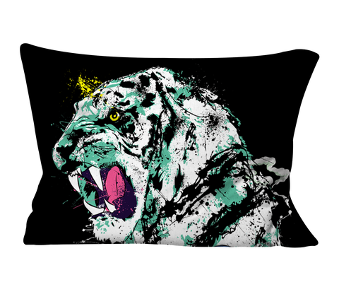 """Black Tiger"" Pillow Case"