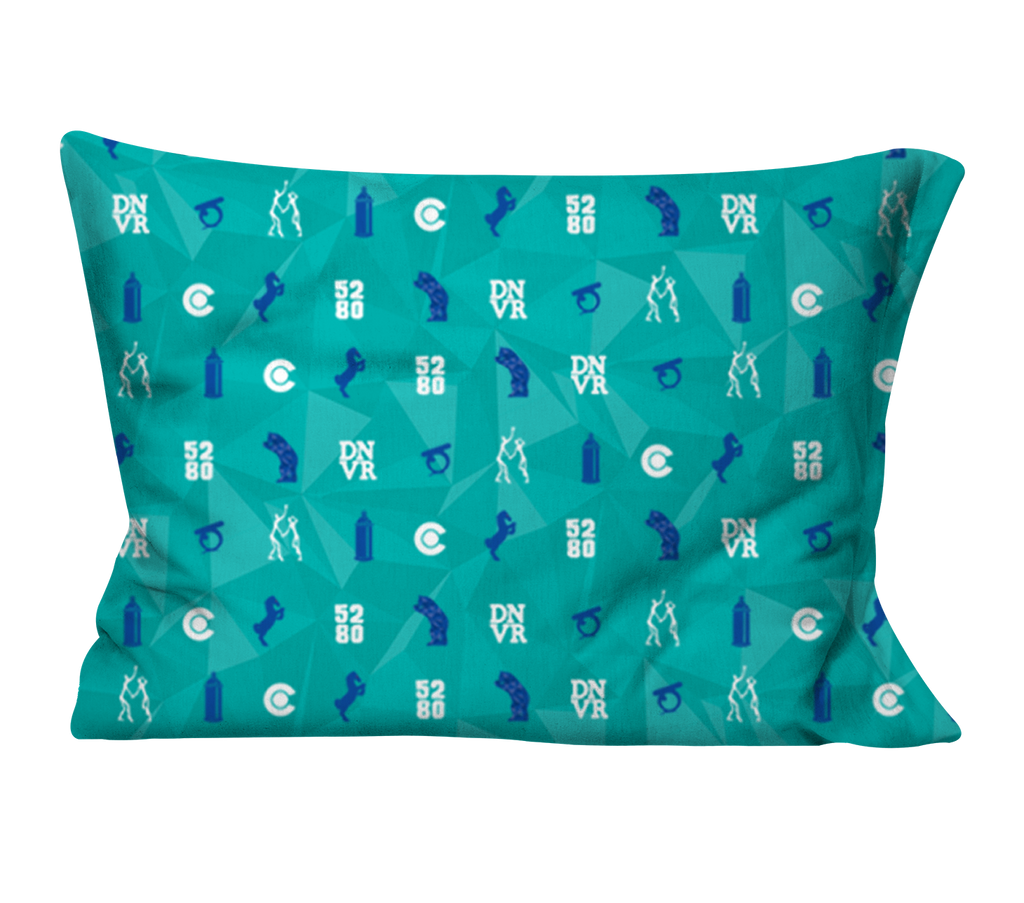 """Bluecifer & Friends"" Pillow Case"