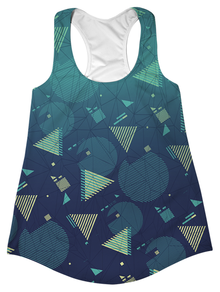 """Fresh Prints"" Racerback Tank Top"