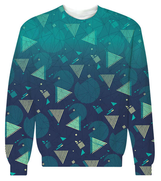 """Fresh Prints"" Crewneck Sweatshirt"