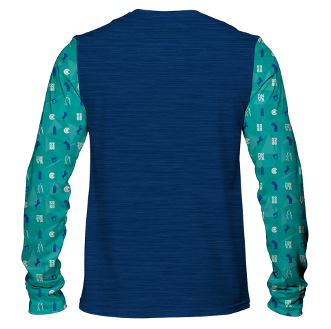 """Bluecifer & Friends"" Men's Long Sleeve Tee"