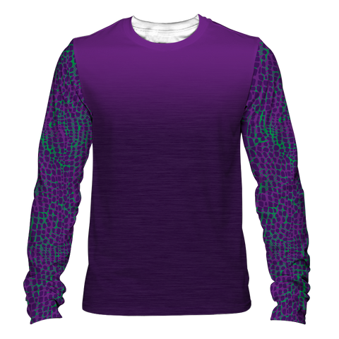 """Dinoflauge"" Men's Long Sleeve Tee"