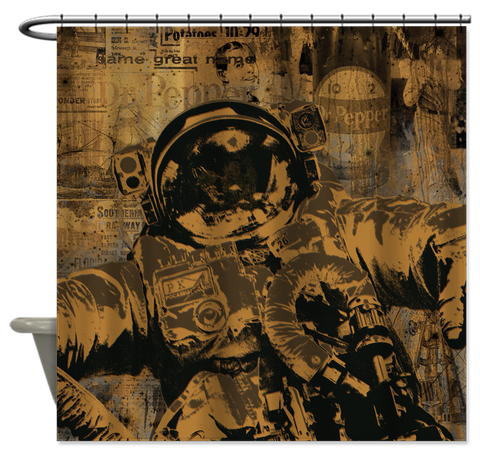 """Astronaut"" Shower Curtain"