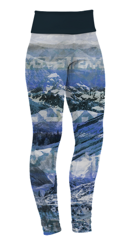 """Mountains"" Leggings"