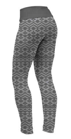 """Holiday Grey"" Leggings"