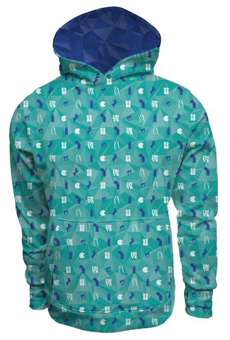 """Bluecifer & Friends"" Pullover Hoodie"