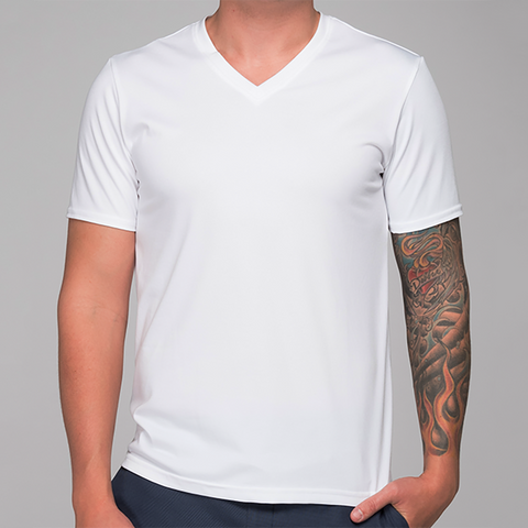 Men's V-neck T-shirt - Custom
