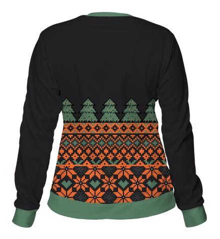"""Tree Sweater"" Women's Crewneck Sweatshirt"