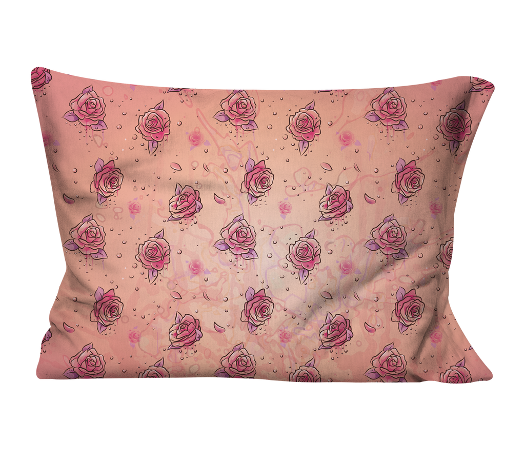 """Flowers are Forever"" Pillow Case"