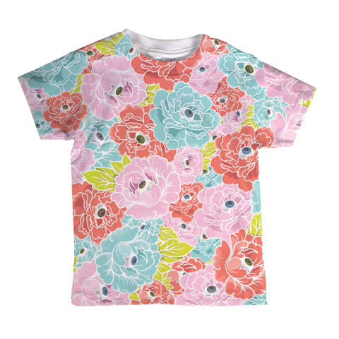"""Flower Eyes"" Toddler Tee"
