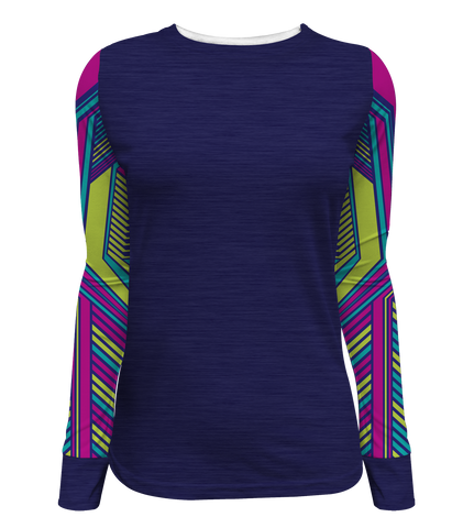"""Urban Warfare"" Women's Long Sleeve Tee"