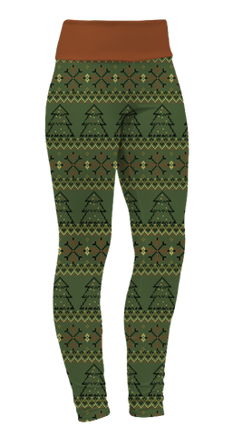 """Christmas Trees"" Leggings"
