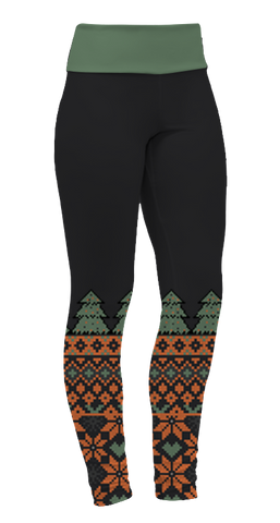 """Tree Sweater"" Leggings"