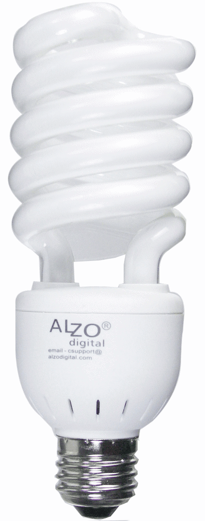 ALZO 27W CFL Video-Lux photo light bulb