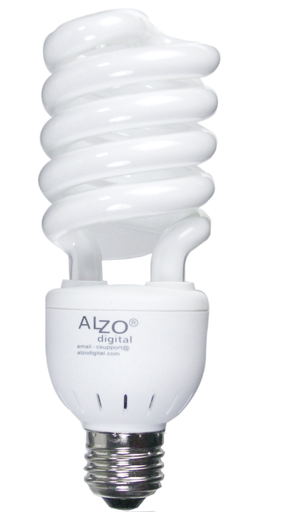 ALZO 27W CFL Photo Light Bulb 5500K
