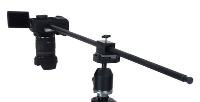 ALZO Horizontal Camera Mount for Overhead Photography on tripod