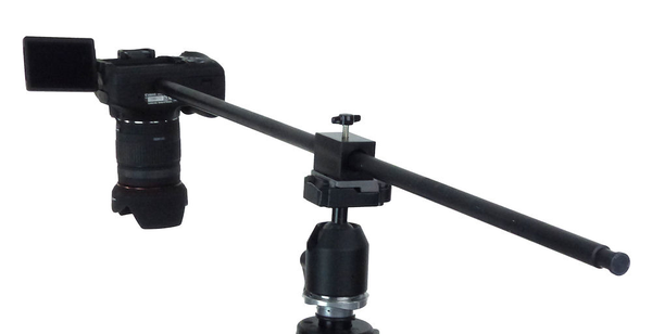 Horizontal Camera Mount Tripod Accessory Alzo Digital