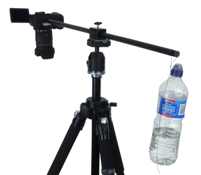 ALZO Horizontal Camera Mount for Overhead Photography with water weight