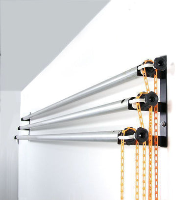 ALZO Wall Mount Background Support Kit with 3 poles