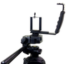 ALZO Smartphone Mini Video Rig Hand Grip with Shoe Mounts on tripod