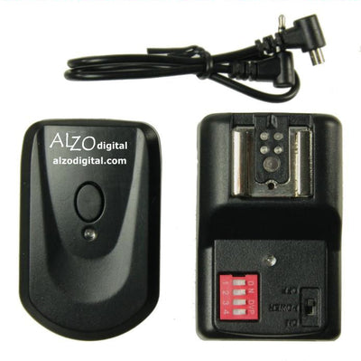 ALZO Wireless Flash Trigger Speedlight Kit 16 Channel