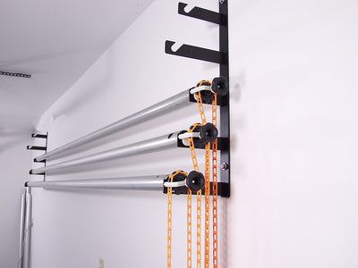Wall Mount Background Support Kit with 4 poles