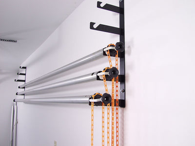 Wall Mount Background Support Kit with 6 poles