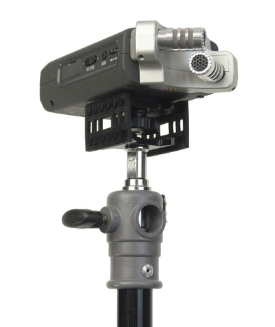 ALZO Audio Recorder Shock Mount for Zoom H4n on stand