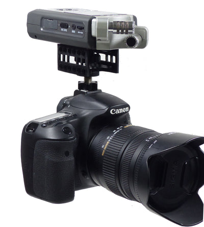 ALZO Audio Recorder Shock Mount for Zoom H4N on DSLR