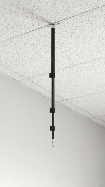 ALZO Telescoping Suspended Drop Ceiling Mount Kit