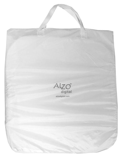 ALZO Photo Light Tent 14 Inch Cube Kit with Paper Grips zipper jacket