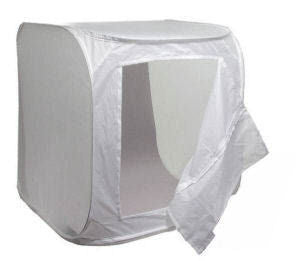 ALZO Photo Light Tent 14 Inch Cube Kit with Paper Grips