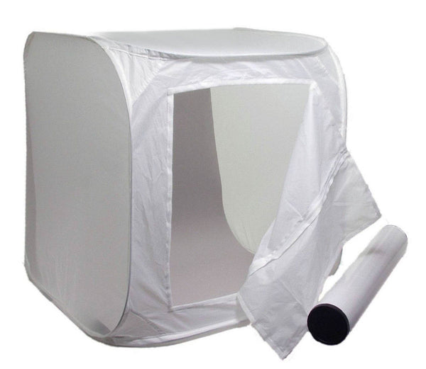 ALZO Photo Light Tent 14 Inch Cube Kit with Background Paper