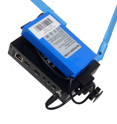 ALZO Li-ion Rechargable Battery for ALZO Newtek Connect Spark Mount