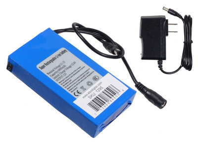 ALZO Li-ion Rechargable Battery for ALZO Newtek Connect Spark Mount with charger