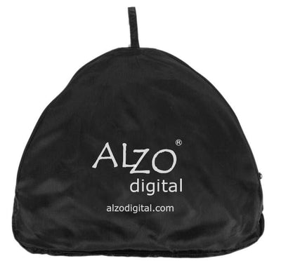 ALZO Porta Flash Mini Softbox with Large Tilt Bracket and Ring bag