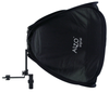 ALZO Porta Flash Mini Softbox with Large Tilt Bracket and Ring side view