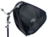 ALZO Porta Flash Mini Softbox with Large Tilt Bracket and Ring with tilt bracket