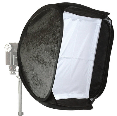 ALZO Porta Flash Mini Softbox with Large Tilt Bracket and Ring