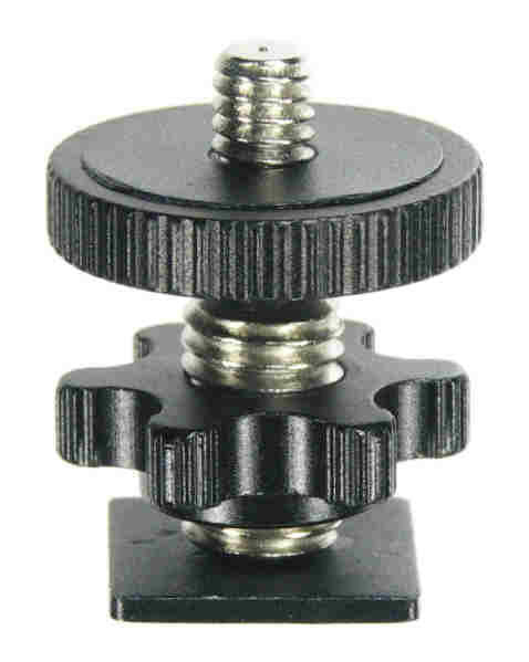 ALZO Shoe Mount Adaptor to 1/4 Inch x 20 Screw Mount