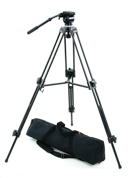 ALZO ProPod II Video Camera Fluid Panhead 53 inch Tripod
