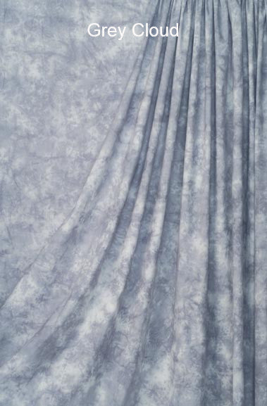 Muslin Photo Backdrop Grey Cloud