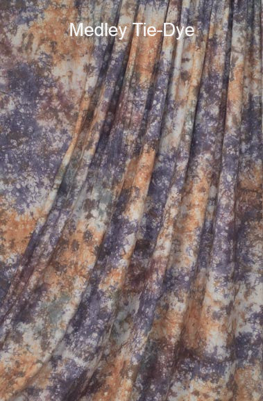Muslin Photo Backdrop Medley Tie-Dye
