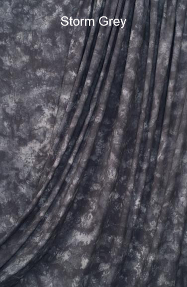 Muslin Photo Backdrop Storm Grey