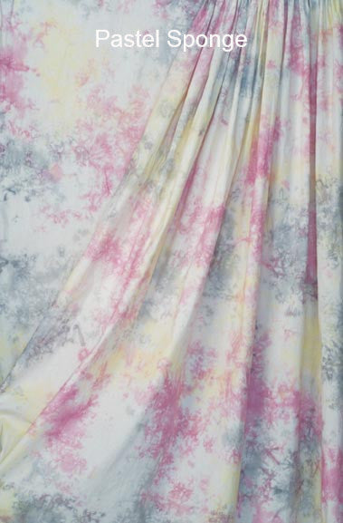 Muslin Photo Backdrop Pastel Sponge