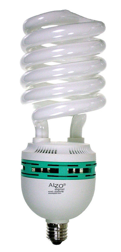 ALZO 85W CFL Video-Lux® Photo Light Bulb 3200K, 4250 Lumens, 220V