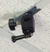 ALZO Suspended Drop Ceiling Action Camera Mount for GoPro on ceiling