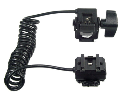 ALZO ETTL and Wireless Dual Hot Shoe Cord for Canon Cameras